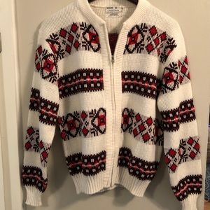 Sears Sweaters Vintage 70s Sweater Cardigan Ugly Christmas Poshmark